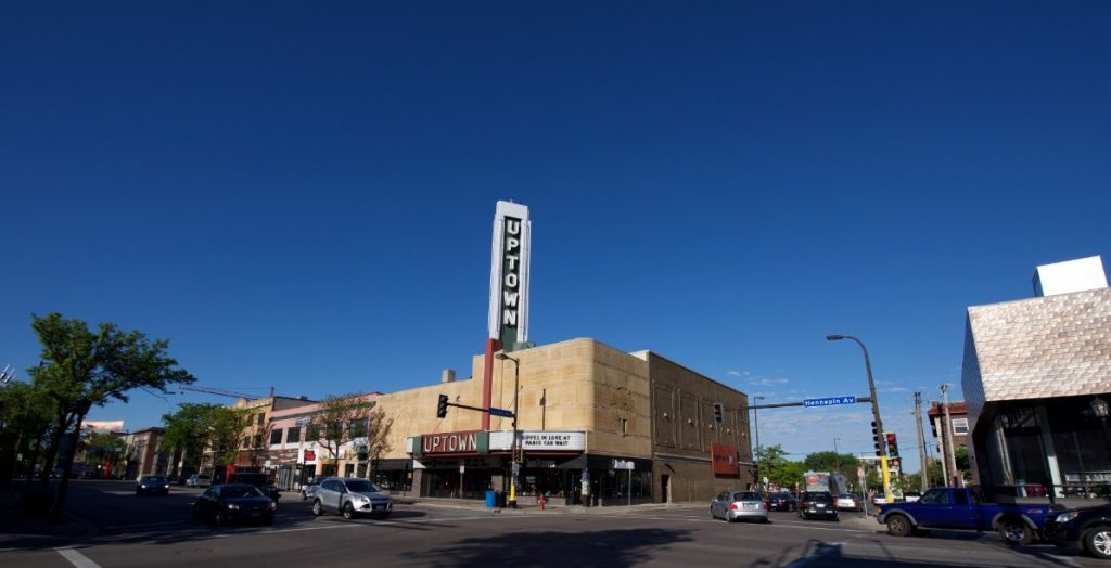 The Uptown Theater in Uptown, MN